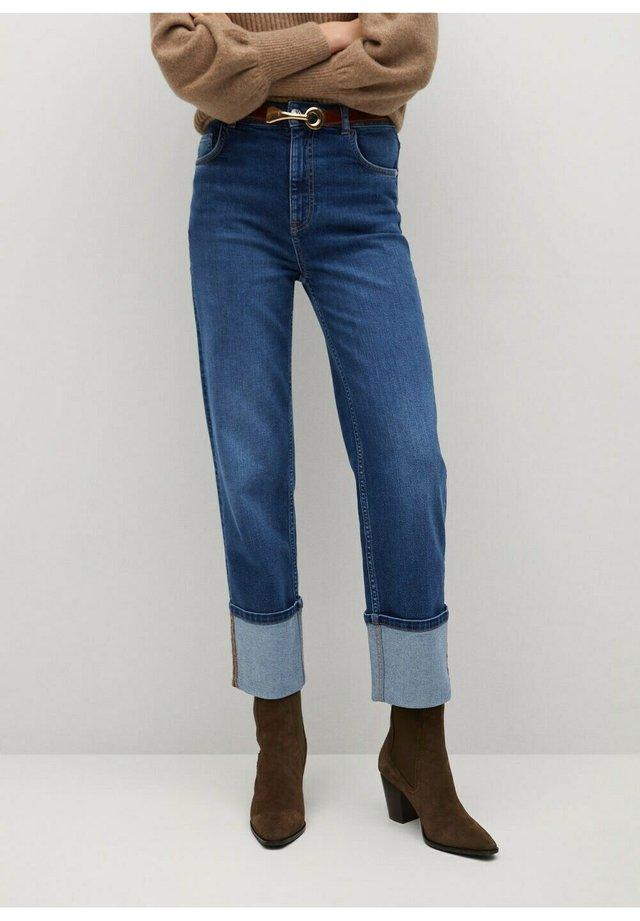 BAJO-I - Jeans a sigaretta - middenblauw