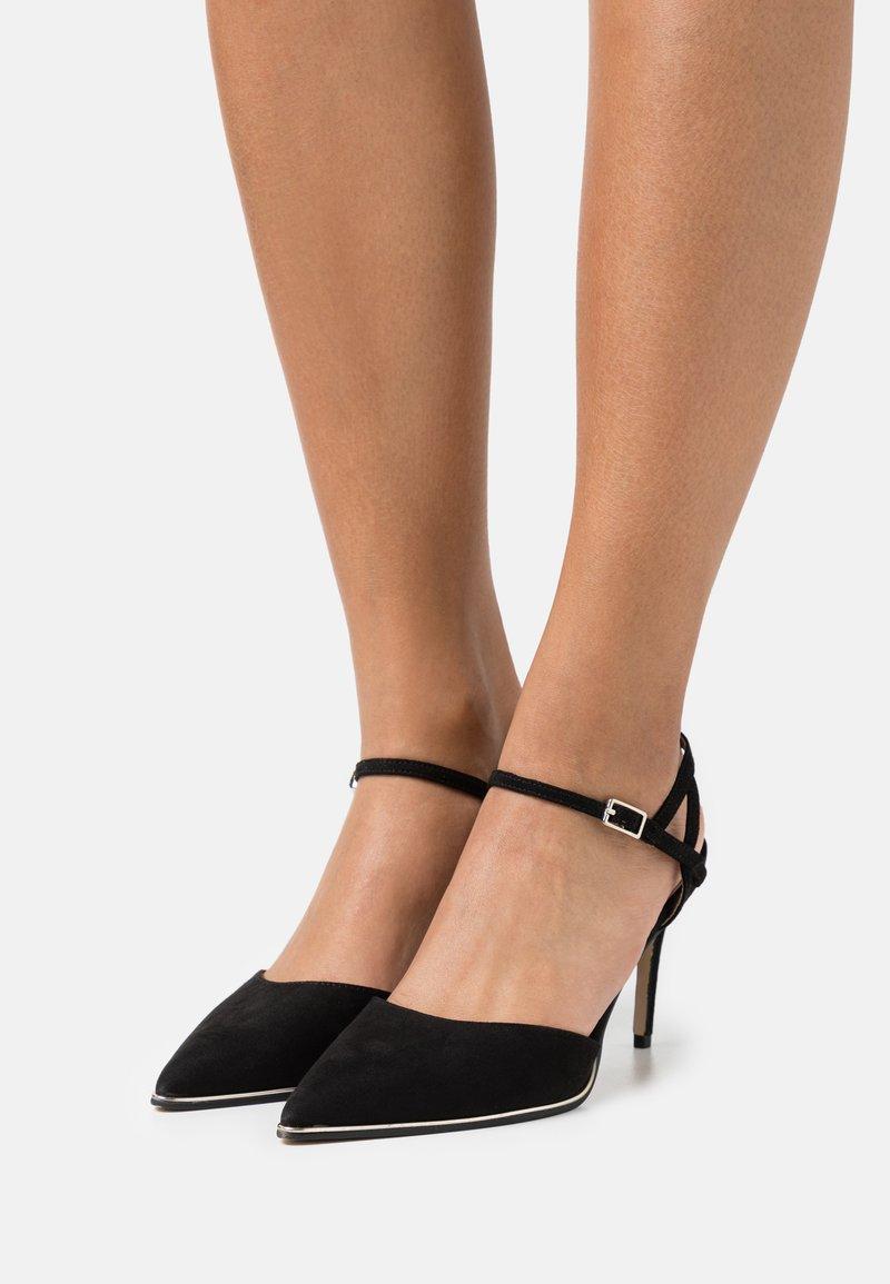 Dorothy Perkins - ELFIE TWO PART METAL RAND POINT COURT - High heels - black