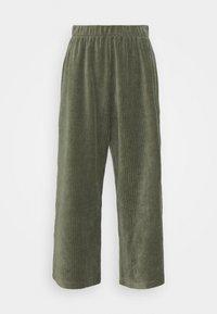 Monki - CORIE TROUSERS - Trousers - green - 3