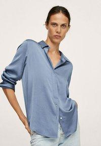 Mango - IDEALE - Overhemdblouse - blue - 3