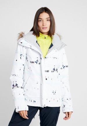 JET SKI  - Kurtka snowboardowa - bright white