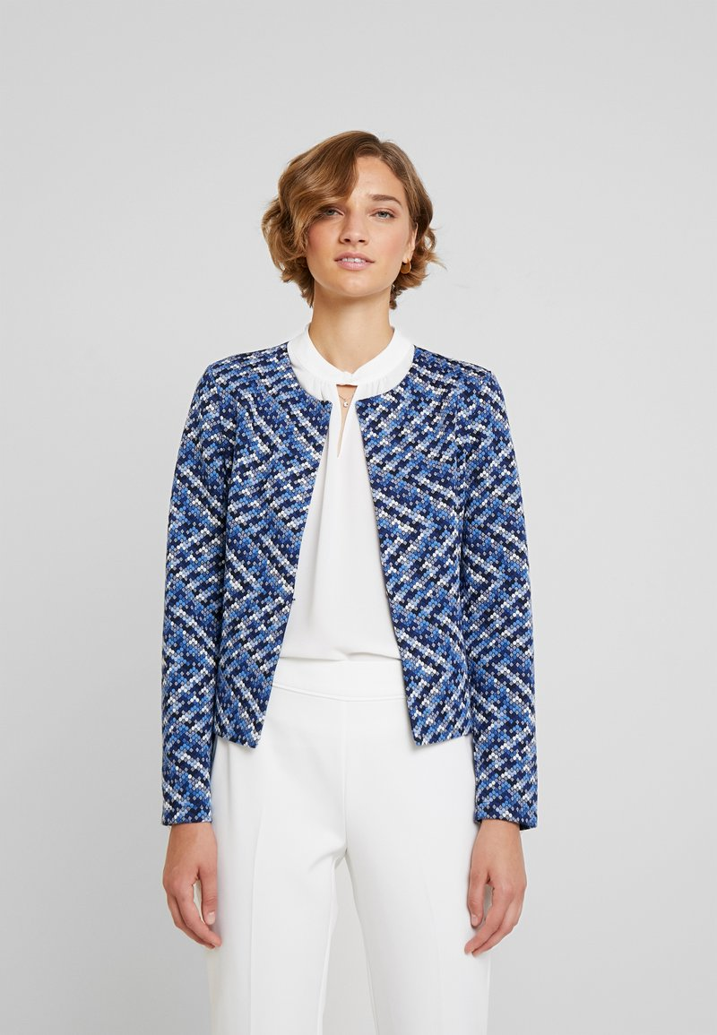 TOM TAILOR - Blazer - blue/offwhite