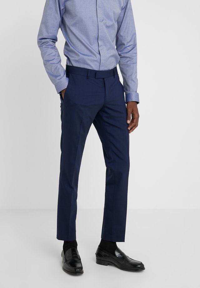 GORDON - Suit trousers - midnight blue
