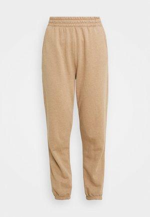 BOYFRIEND - Tracksuit bottoms - brown