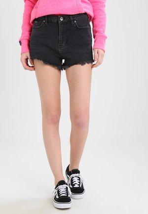 ELIZA CUT OFF  - Shorts di jeans - washed black