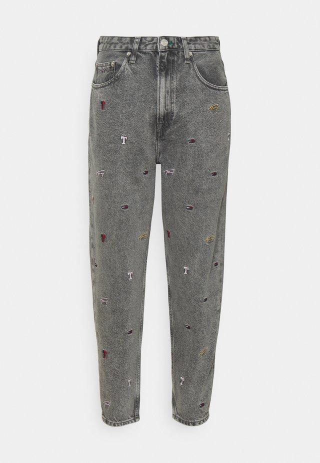 MOM - Jeans baggy - denim black