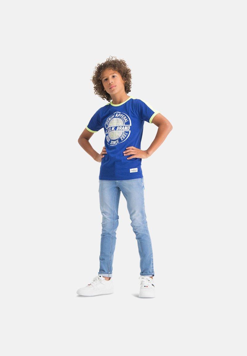 Vingino - ALFONS - Slim fit jeans - blue denim