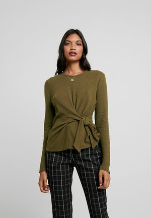 COMPOTE - Long sleeved top - asparagus