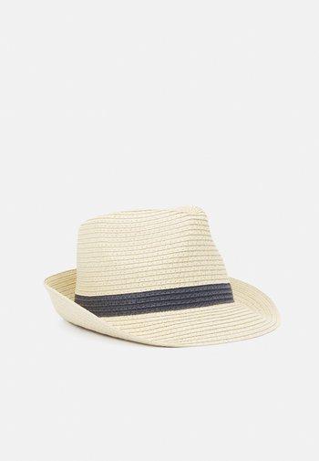HAT PANAMA STRIPES UNISEX - Hat - light beige