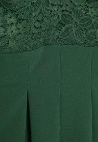 WAL G. - PLEATED SKATER DRESS - Žerzejové šaty - forest green - 6