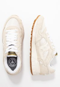 Saucony - SHADOW VINTAGE - Trainers - tan/white - 3