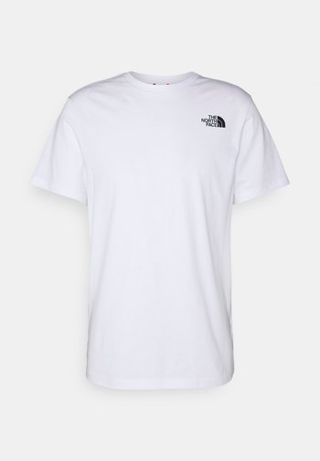 THREEYAMA TEE  - T-shirt med print - white