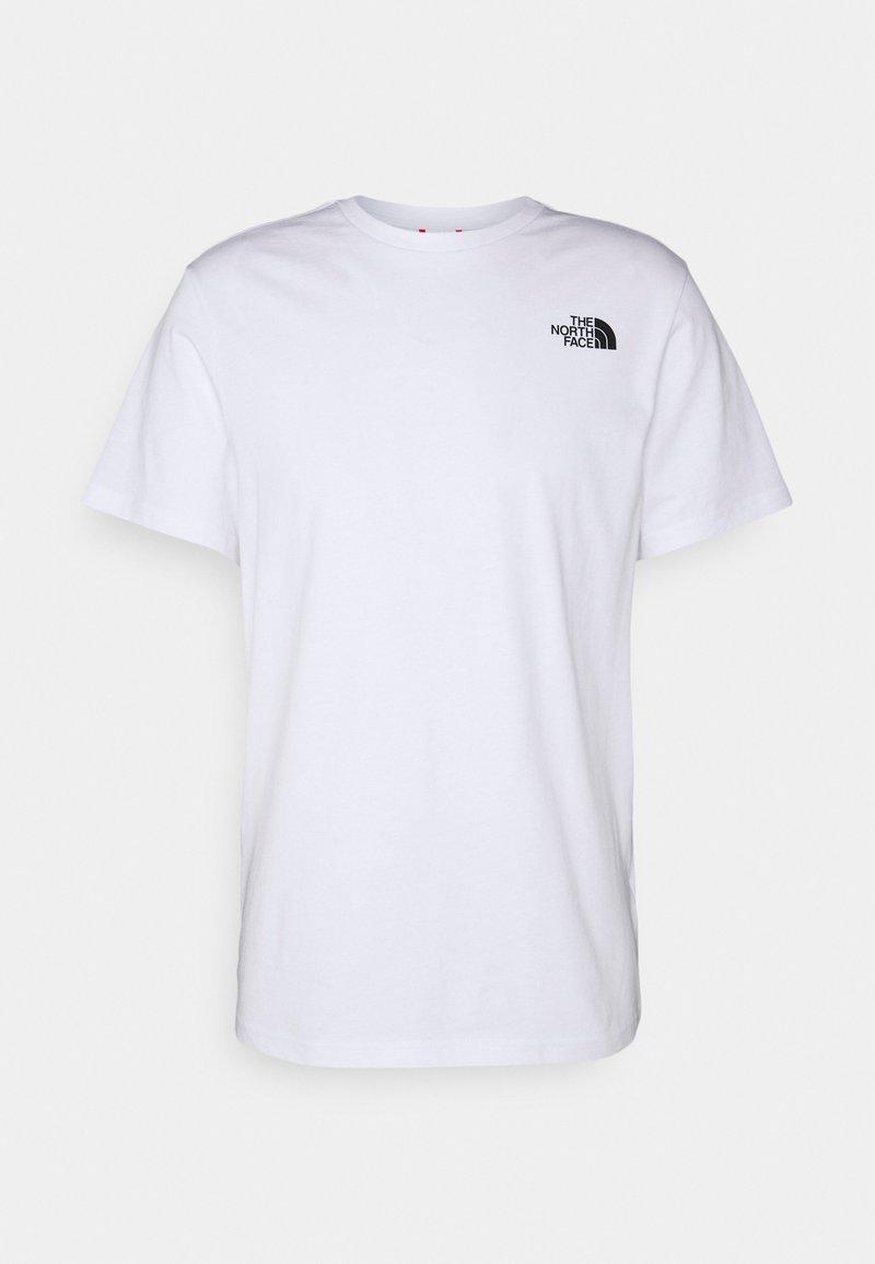 The North Face - THREEYAMA TEE  - T-shirt z nadrukiem - white