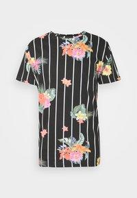 Brave Soul - CATTLEYA - Print T-shirt - jet black - 3