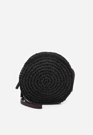 CIRCLE - Borsa a tracolla - black