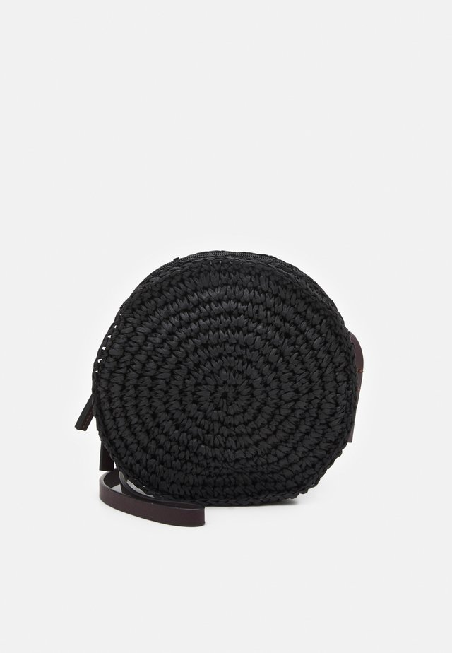 CIRCLE - Sac bandoulière - black