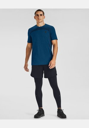 """RUSH SEAMLESS"" - Sports shirt - graphite blue"