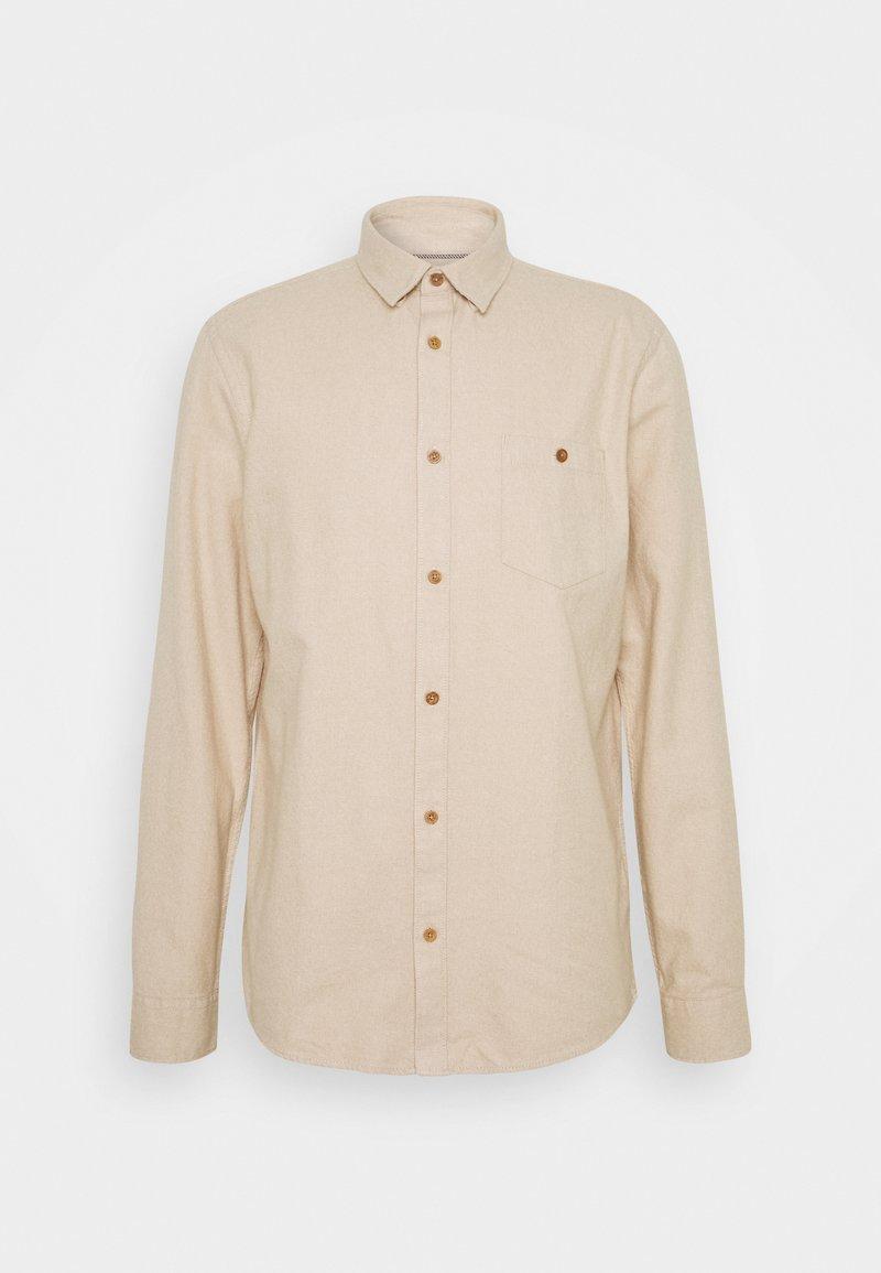 Solid - JUAN  - Shirt - sand