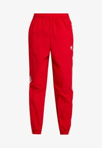 adidas Originals - LOCK UP ADICOLOR NYLON TRACK PANTS - Joggebukse - red - 6