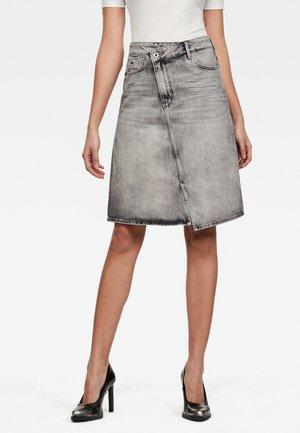 JOCI - Denim skirt - sun faded basalt