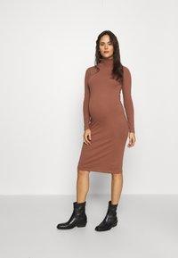 MAMALICIOUS - MLSIA  - Jersey dress - nutmeg - 0