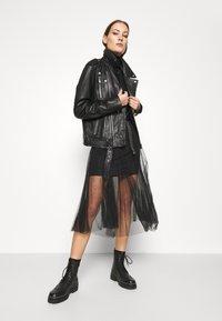 AllSaints - ELVIE TULLE SKIRT - A-line skirt - black - 3