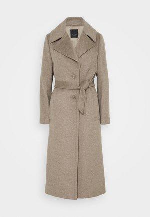 CLARETA BELT - Classic coat - camel