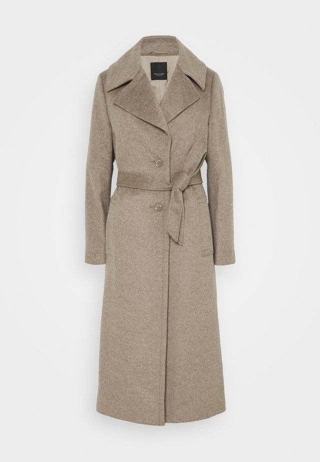 CLARETA BELT - Zimní kabát - camel