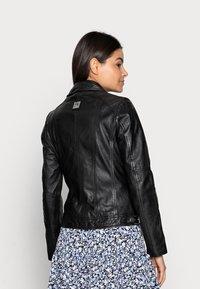 Freaky Nation - ALIET - Leather jacket - black - 2