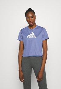 adidas Performance - Camiseta estampada - orbit violet/white - 0