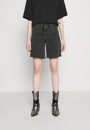MEJA DENIM SHORTS - Shorts di jeans - retro black