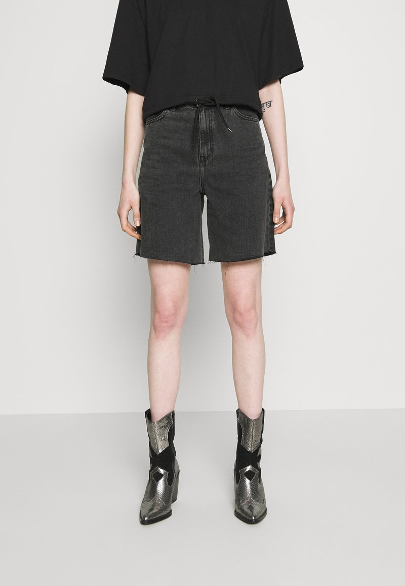 Dr.Denim - MEJA - Shorts di jeans - retro black