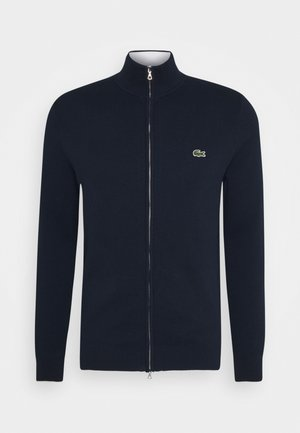 Strikjakke /Cardigans - navy blue