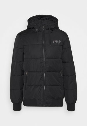 LASSE PUFFED JACKET - Giacca invernale - black