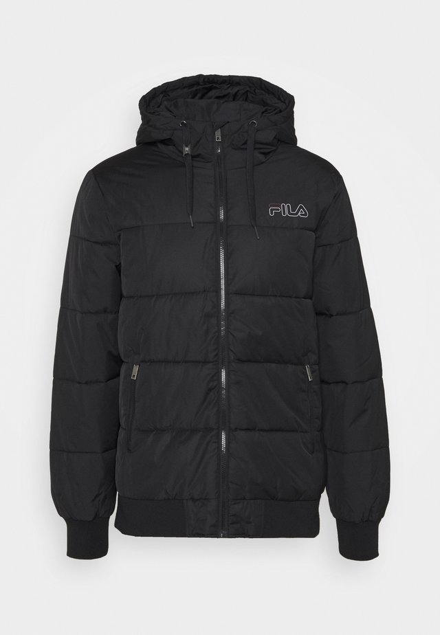 LASSE PUFFED JACKET - Winterjas - black
