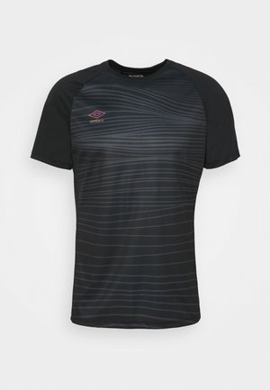 PRO TRAINING GRAPHIC - T-shirt con stampa - black/carbon