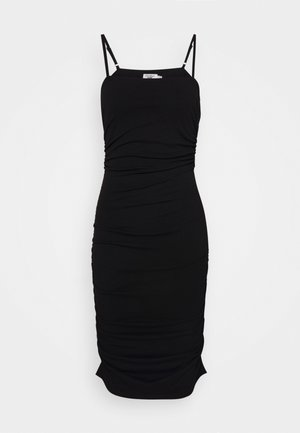 PAMELA REIF X NA-KD THIN STRAP DRESS - Vestido de cóctel - black