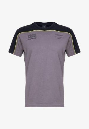 MULTI TEE - T-shirt print - grey/black