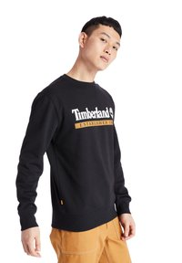 Timberland - ESTABLISHED 1973 CREW - Sweatshirt - black-wheat boot - 4