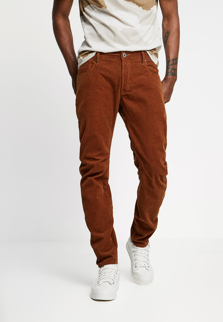 G-Star - ARC 3D SLIM FIT COLORED - Trousers - roast