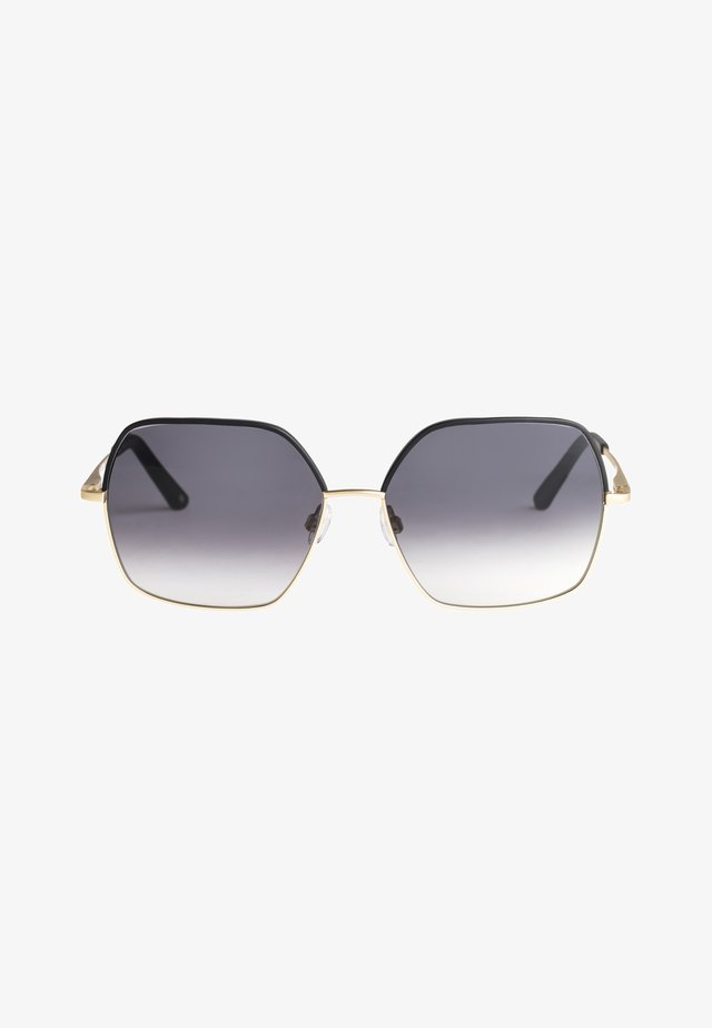 LILIES - Zonnebril - shiny gold-black / grey gradie