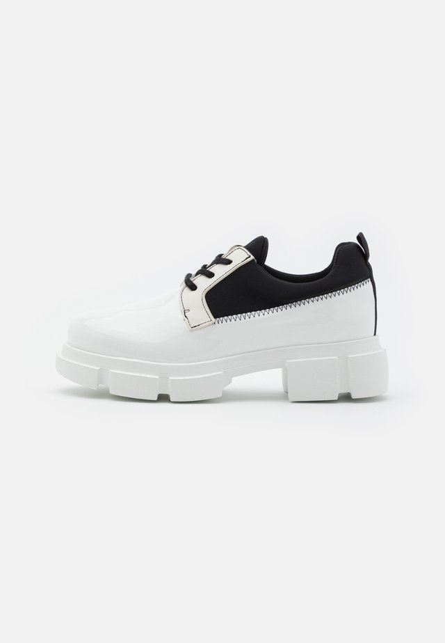VELAR SHOE - Lace-ups - white