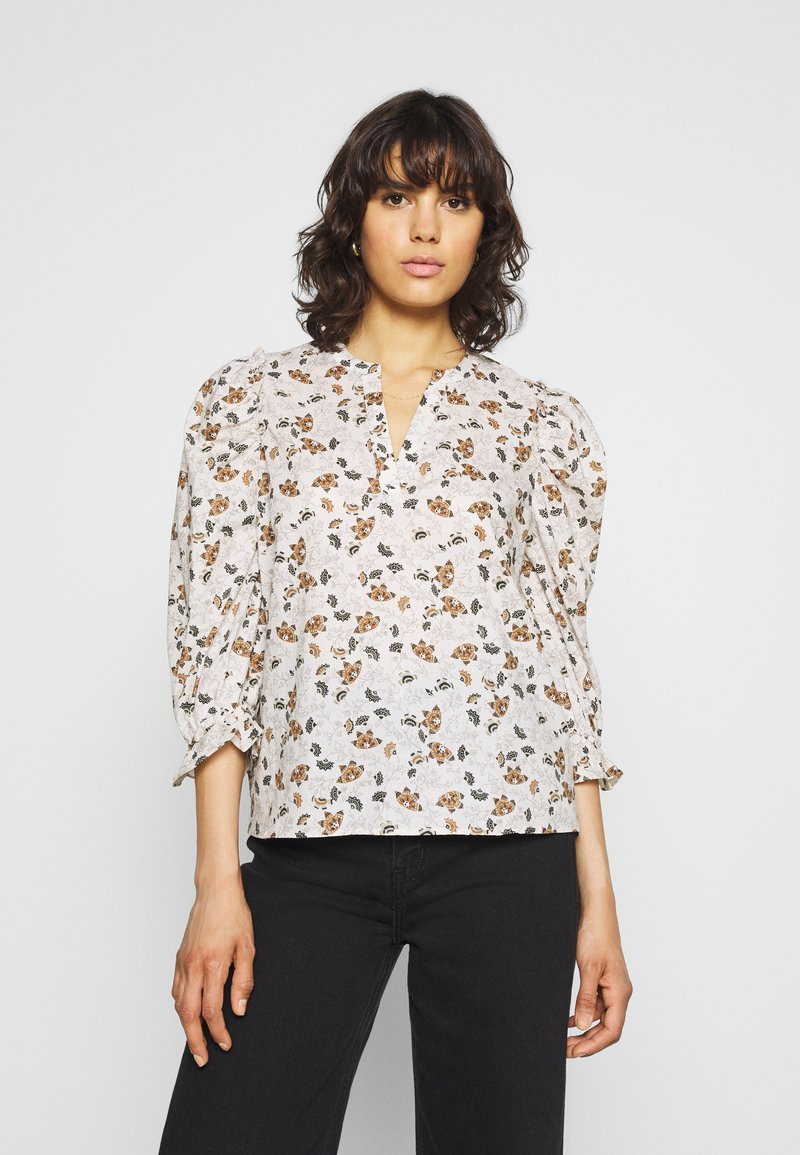 b.young - BYISSA BLOUSE  - Blouse - toffee mix