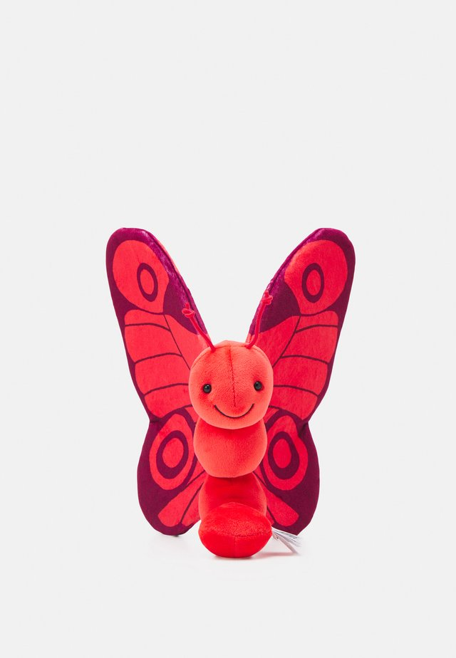 BREEZY BUTTERFLY POPPY - Cuddly toy - red