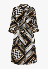 Name it - NKFLUNKA LONG DRESS - Shirt dress - black - 0