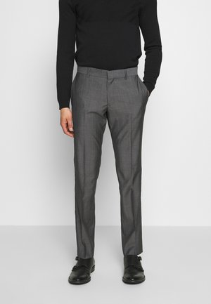 TORD - Jakkesæt bukser - grey