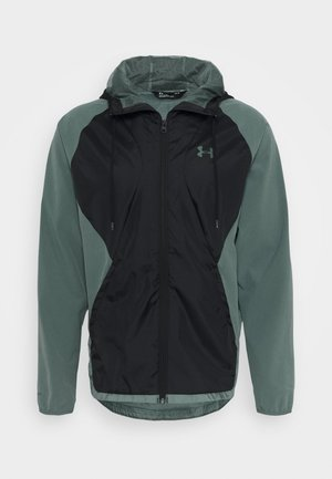 Training jacket - lichen blue