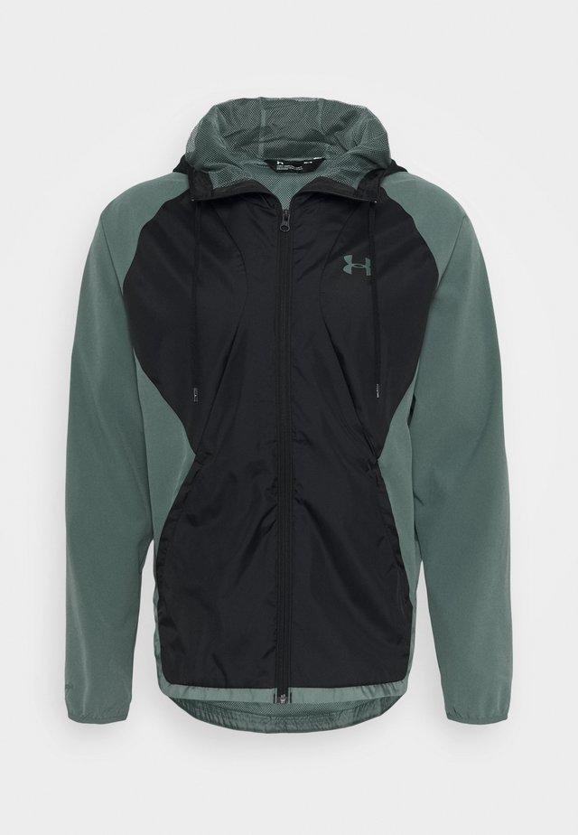 Training jacket - lichen blue