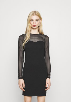 VMKAYLY MESH DRESS - Shift dress - black