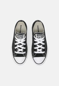 Converse - CHUCK TAYLOR ALL STAR PLATFORM UNISEX - Sneaker low - black/natural ivory/white - 3